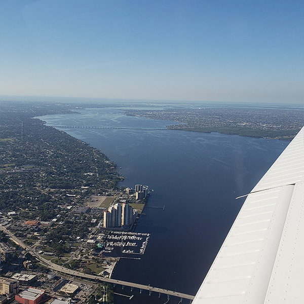 Fort Myers Florida - Aerial